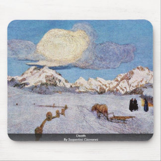 Death By Segantini Giovanni Mousepads