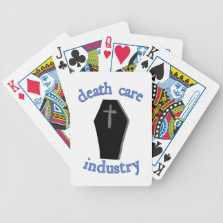 Death Care Industry Bicycle Playing Cards