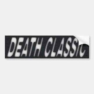 DEATH CLASSIC Bumper Sticker