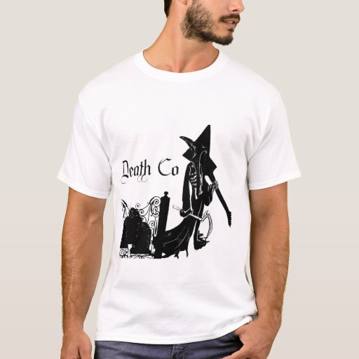 """Death Clothing """"Reaper Grave"""" T-shirt - Customized"""