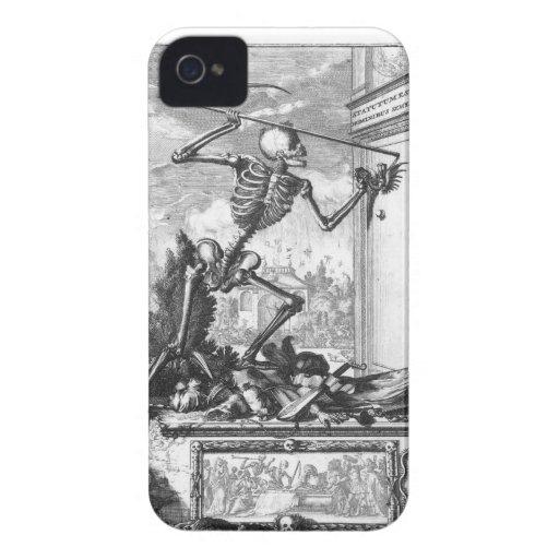 Death comes Knocking Case-Mate Case Case-Mate iPhone 4 Case