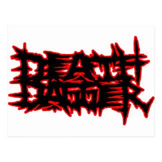 DEATH DAGGER POSTCARD