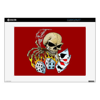 "Death Dealer Skeleton Laptop Sleeve Decal For 15"" Laptop"