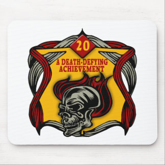 Death-Defying 20th Birthday Gifts Mouse Pad