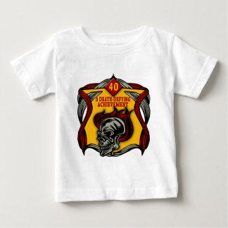 Death-Defying 40th Birthday Gifts Baby T-Shirt
