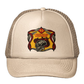 Death-Defying 40th Birthday Gifts Trucker Hat