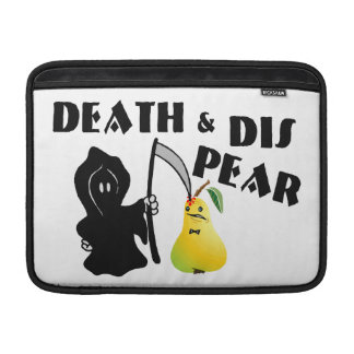 Death & Dis Pear MacBook Sleeve