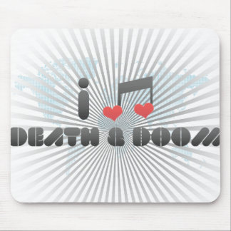 Death & Doom fan Mouse Pad