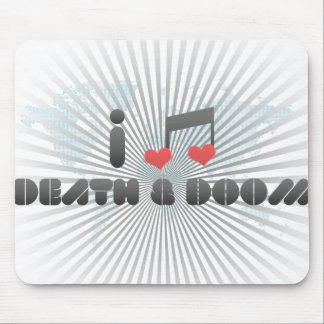 Death & Doom fan Mousepad