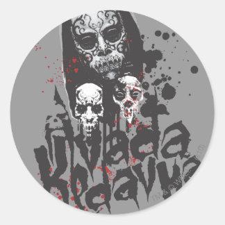 Death Eater Avada Kedavra Classic Round Sticker
