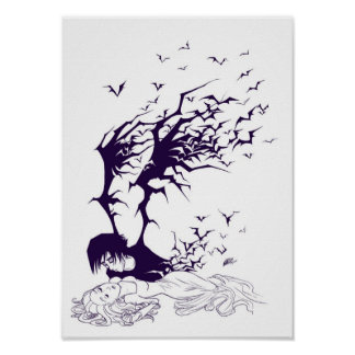Death Enamored Print