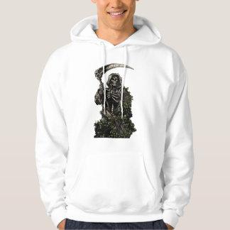 Death - Evil Skeleton Grim Reaper with Scythe Sweatshirts