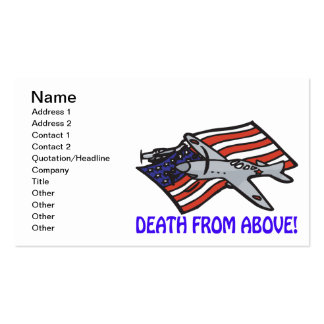 Death From Above Business Card