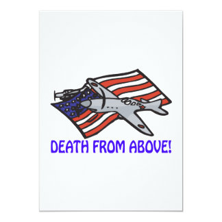 Death From Above Card