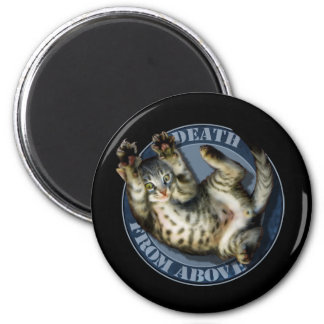 Death From Above kitty magnet