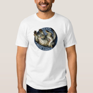 Death From Above kitty t-shirt
