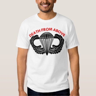 Death From Above Parachute Wings T-shirt