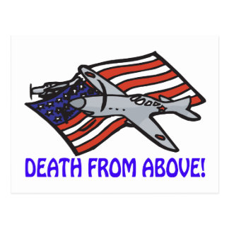 Death From Above Postcard