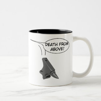 Death from Above! Two-Tone Coffee Mug