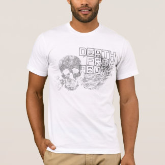 Death From Above Winged Skull T-Shirt