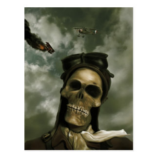 Death From the Skies Postcard