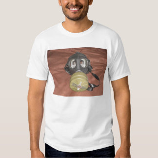 Death Gas Mask by KLM T-Shirt