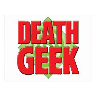 Death Geek v2 Post Card