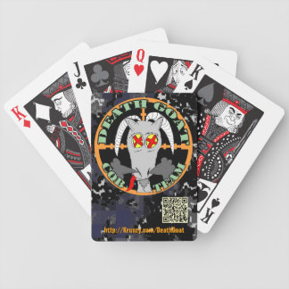 Death Goat CQB Team Playing Cards