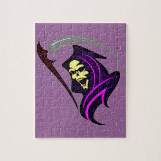 Death grim more reaper jigsaw puzzle