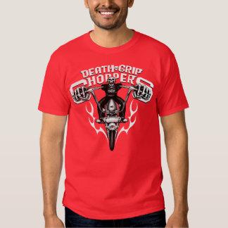 Death Grip Choppers (red) T-Shirt