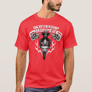 Death Grip Choppers (red) T-Shirt