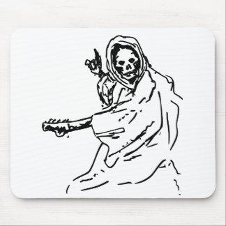death guitar black mouse pad