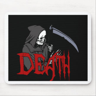 Death - Halloween Mouse Pad
