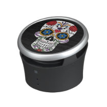 Death head flowers bluetooth speaker