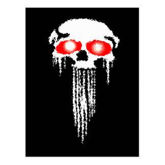 Death Head Postcard