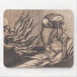 Death Illustration. Circa 1792. Mouse Pad
