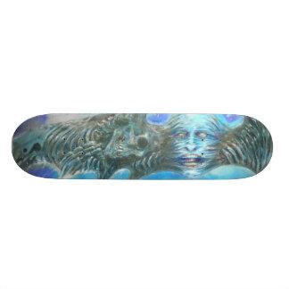Death In flight Custom Skateboard