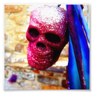 """Death In Glitter"" New Orleans Cemetery Photo"