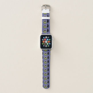 Death in the Cemetery Halloween Apple Watch Band