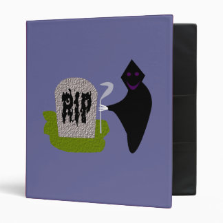 Death in the Cemetery Halloween Binder