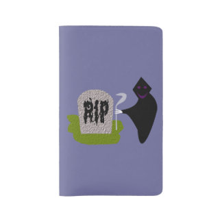 Death in the Cemetery Halloween Notebook Cover Large Moleskine Notebook Cover With Notebook