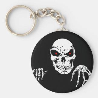 Death in the shadows keychain