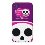 Hand shaped Death iPhone 4 Covers