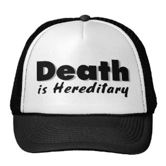 Death is Hereditary Mesh Hats