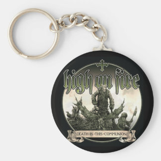 Death Is This Communion keychain