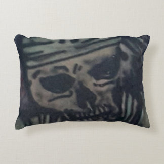 Death is watching you accent pillow