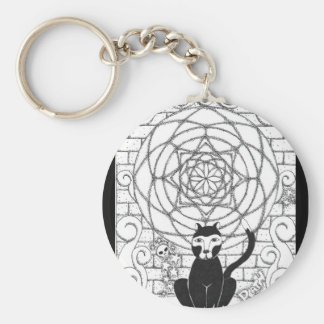 Death - Kitty of the Apocalypse Keychain