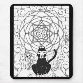 Death - Kitty of the Apocalypse Mouse Pad