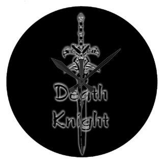 Death Knight Logo clock