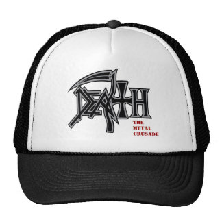 DEATH logo Metal Crusade cap Trucker Hat